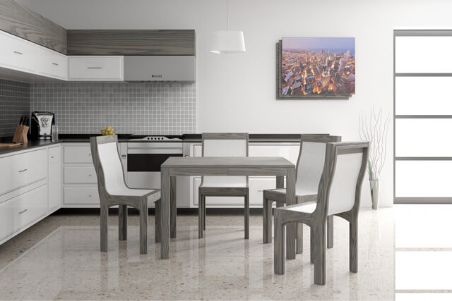 Extendable dinning tables