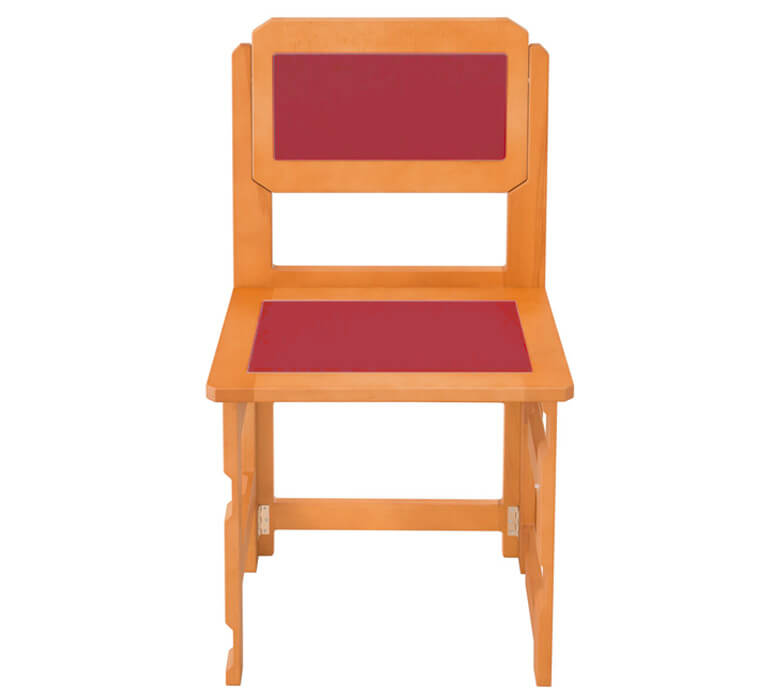 Folding dining chairs detail