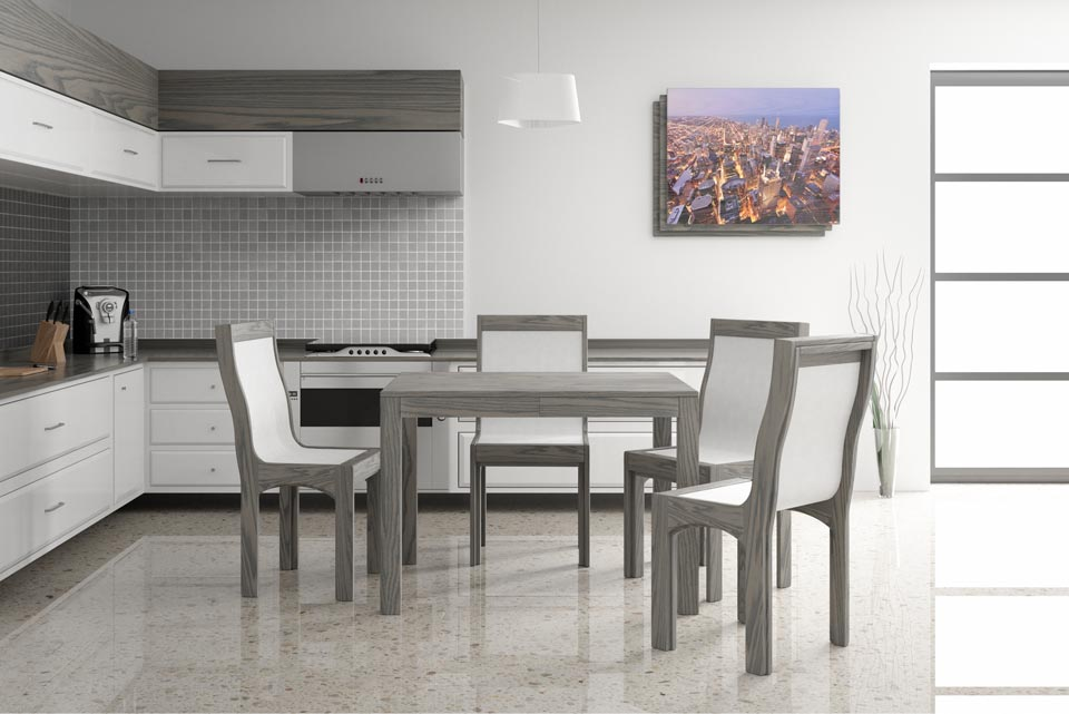 Extending dining modern table
